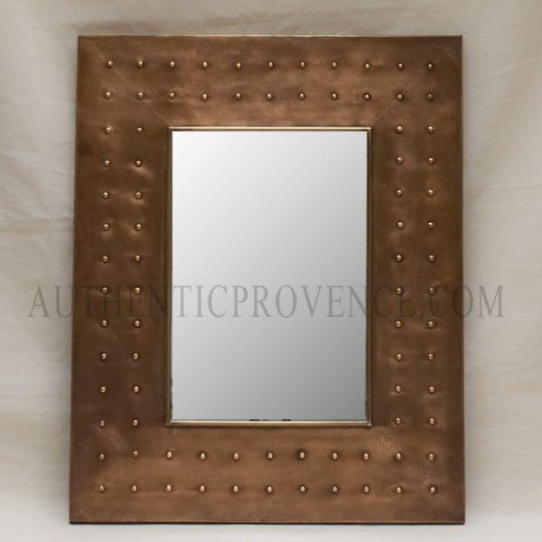 rectangular hand shaped tournai mirror