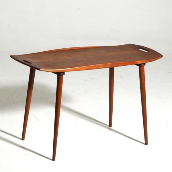 teakwood table circa 1960