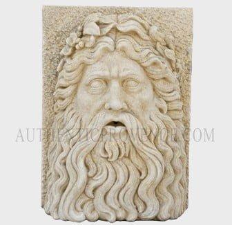 Zeus Wall Relief