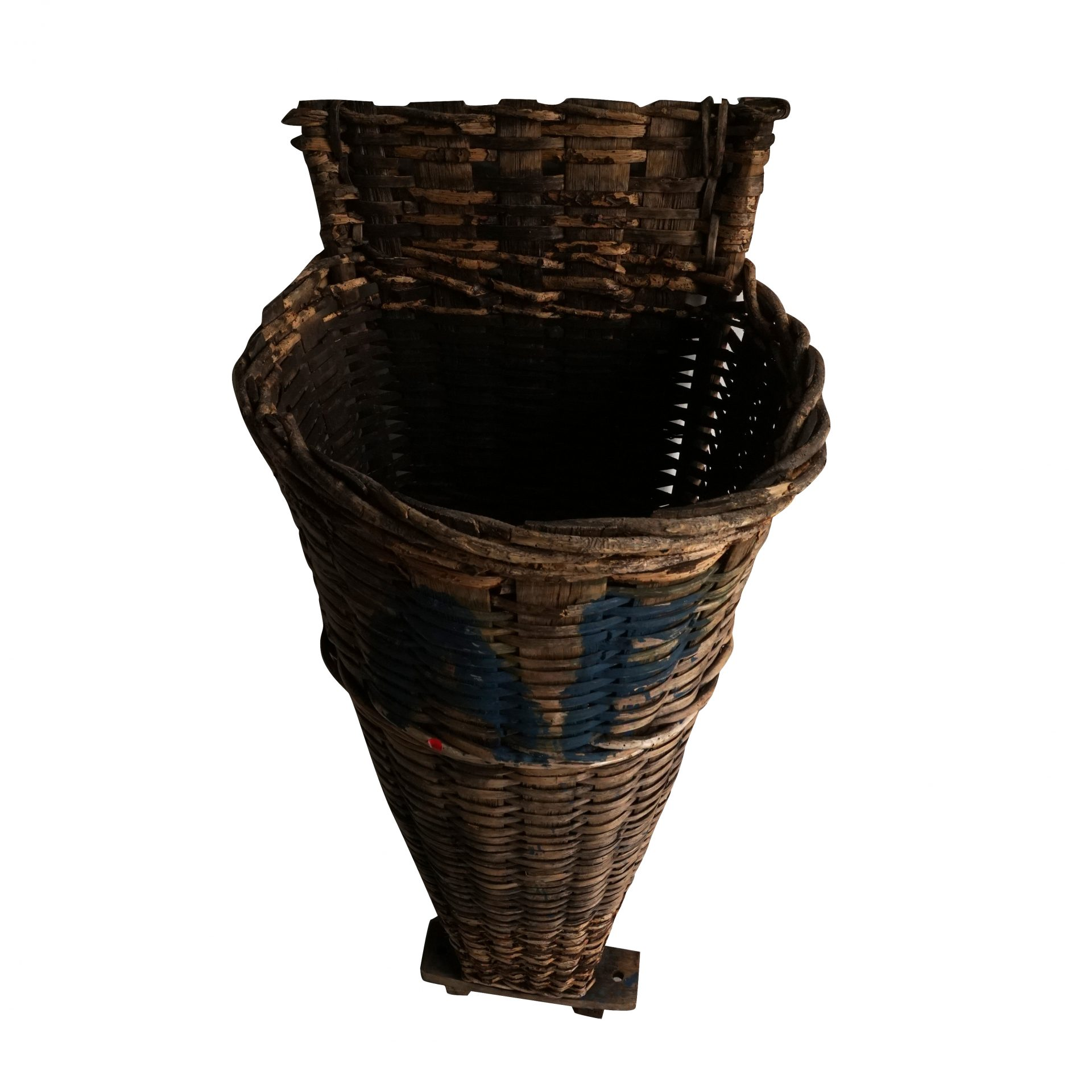 Pair of Wine Collecting Baskets