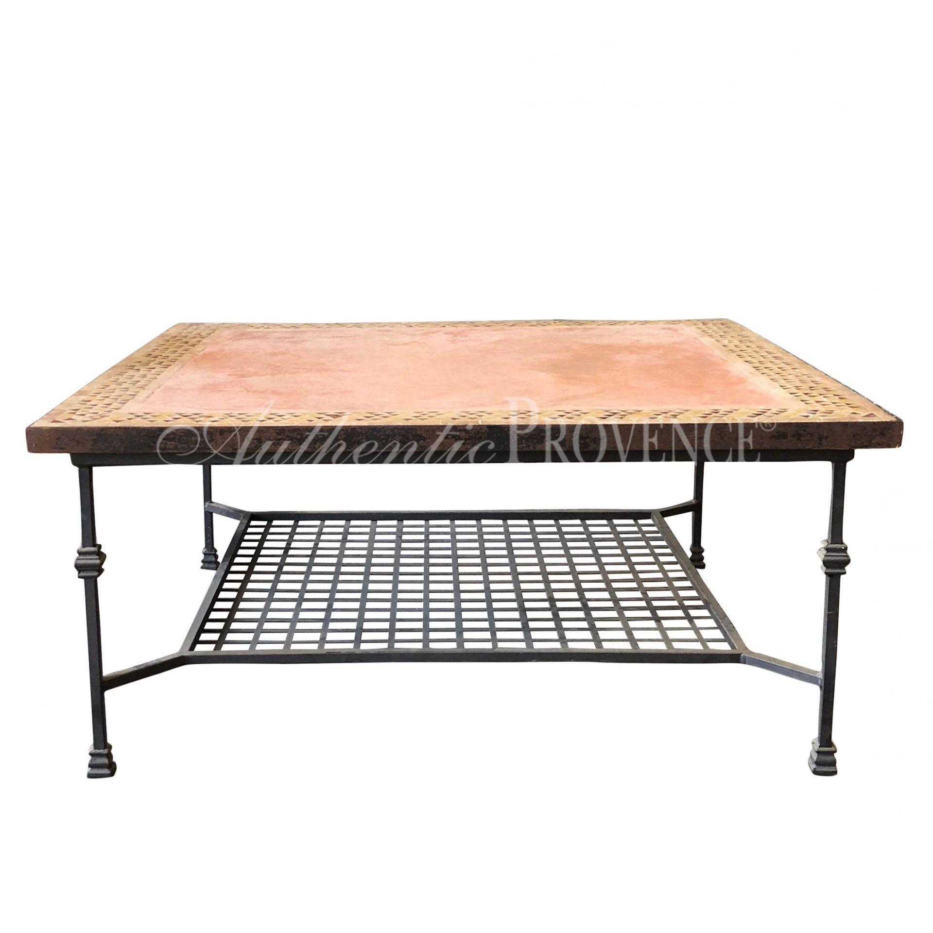 Table Basse Marocaine Authentic Provence