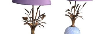Pair of Table Lamps by Barovier & Toso