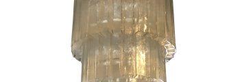 Vintage Tiered Murano Chandelier