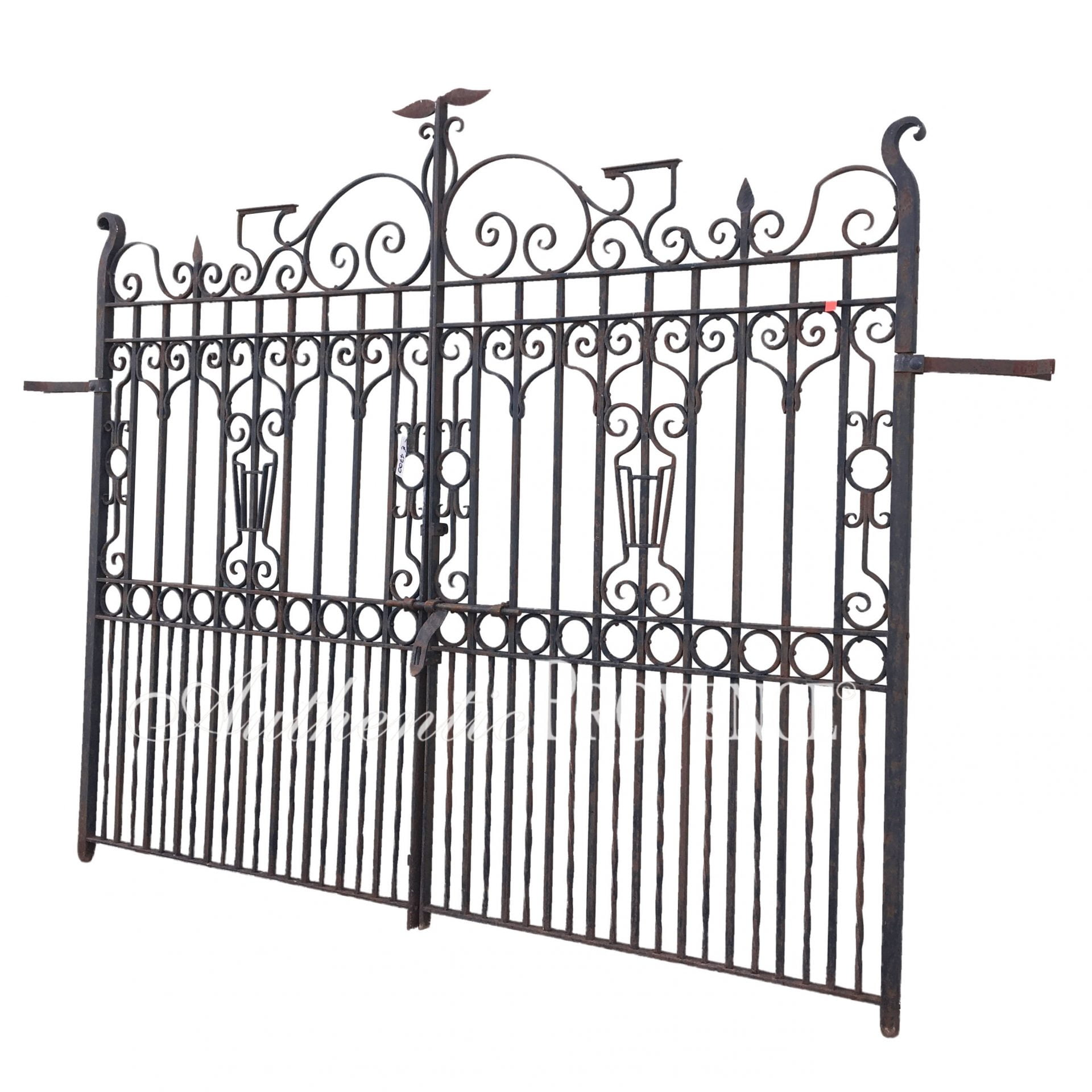 Porte Double D Entrée porte d'entree 1820 | imported gates | authentic provence