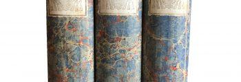 Blue Vintage Decor Book