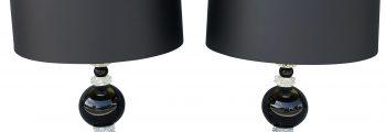 Pair of Murano Table Lamps by Nardo