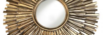 Mid-Century Modern Gilded Mirror