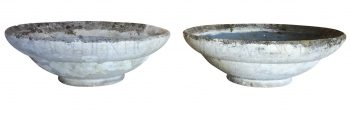 Pair of Willy Guhl Cone Planters